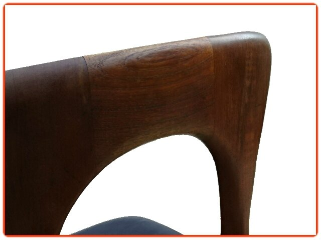 Chaise Peter N. Koefoed scandinave 1950