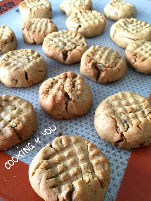 cookies beurre cacahuète 2