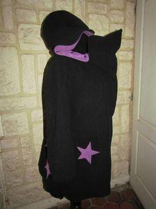 manteau de portage 3 en 1 noir et violet lacage étoile (2)