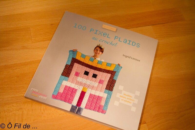100 pixel plaids au crochet