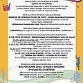 Programme d'animation du 10 au 16 juillet 2017