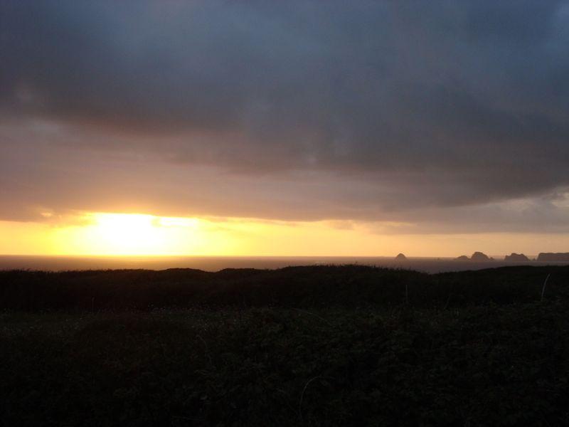 Crozon - coucher de soleil