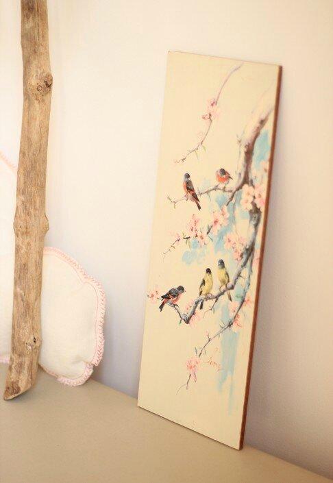 décoration murale chambre enfant tableau enfant Trendy Little 1