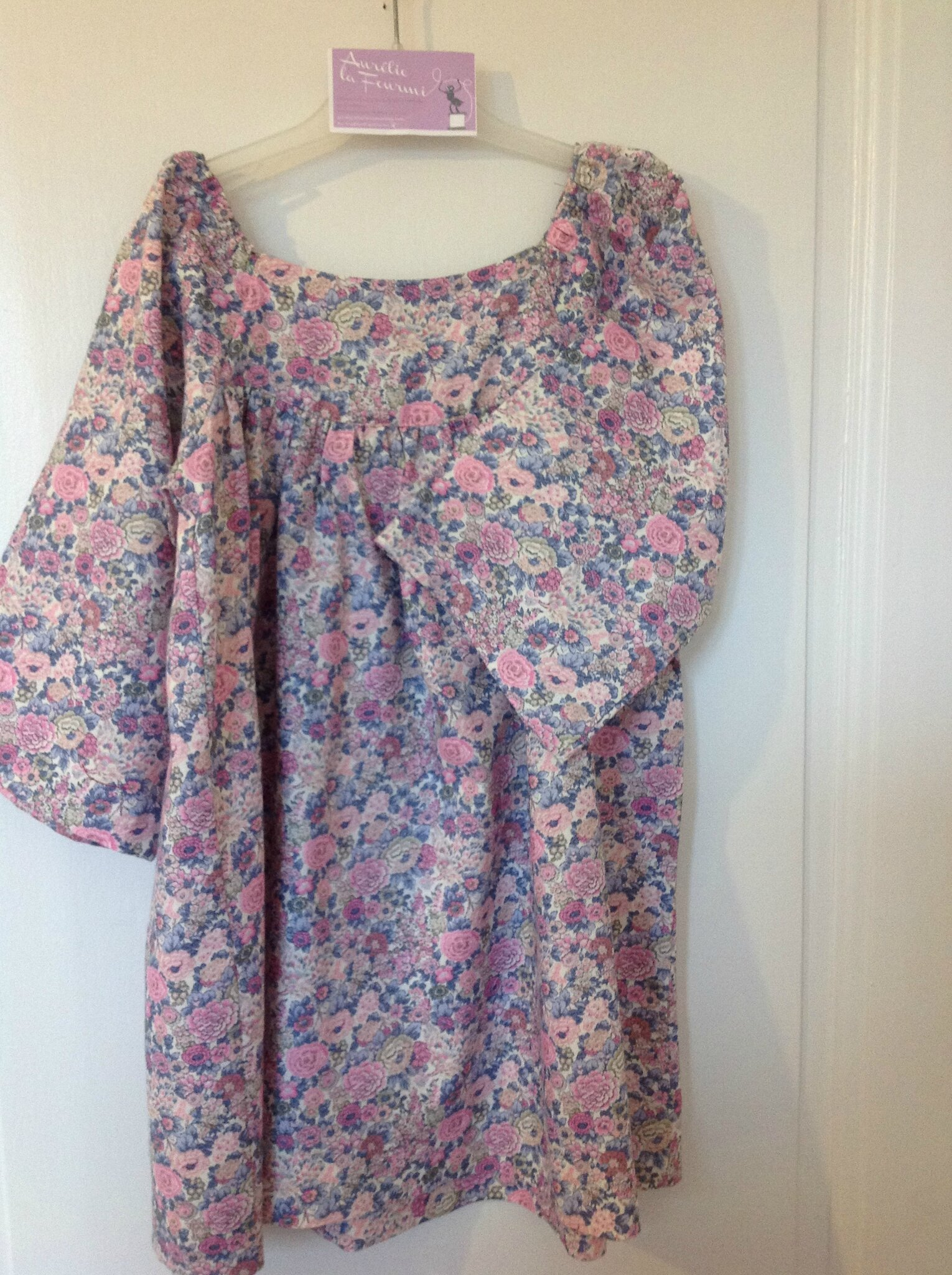 Robe liberty de laine
