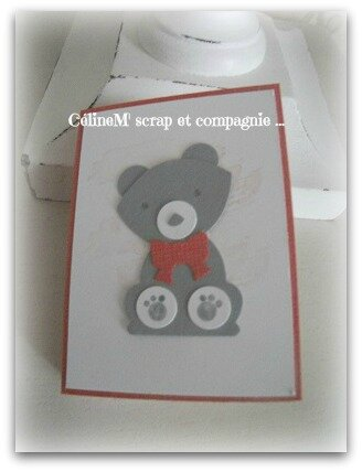 mini carnet ours