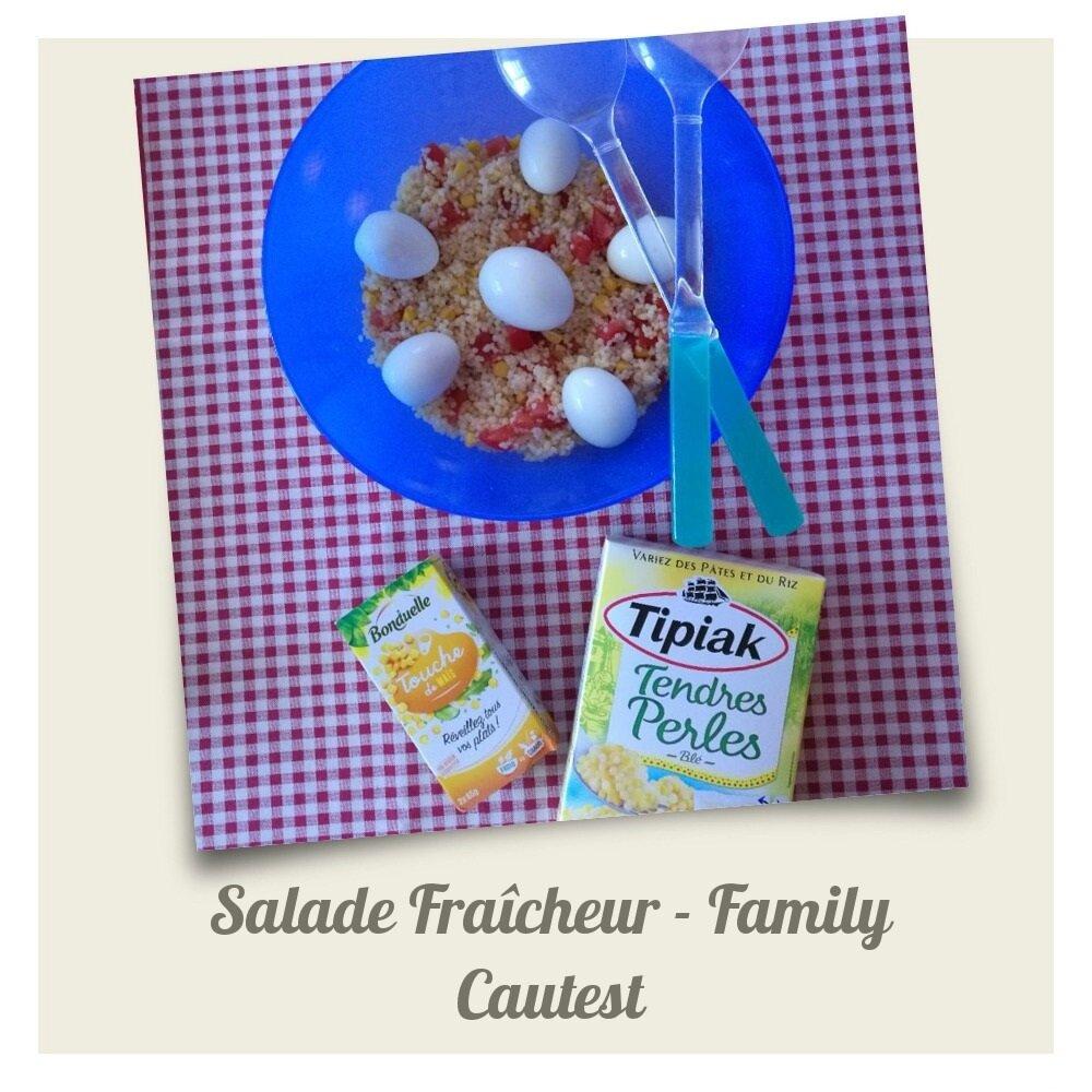 🍚🍜🥗🍑🍒 Salade Fraîcheur pour toute la famille, notre DEGUSTABOX du mois de MAI est à l'honneur! 🍚🍜🥗🍑🍒