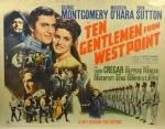 10 gentlemen from west point