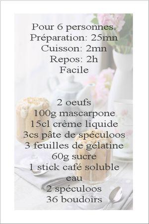 recette charlotte spéculoos