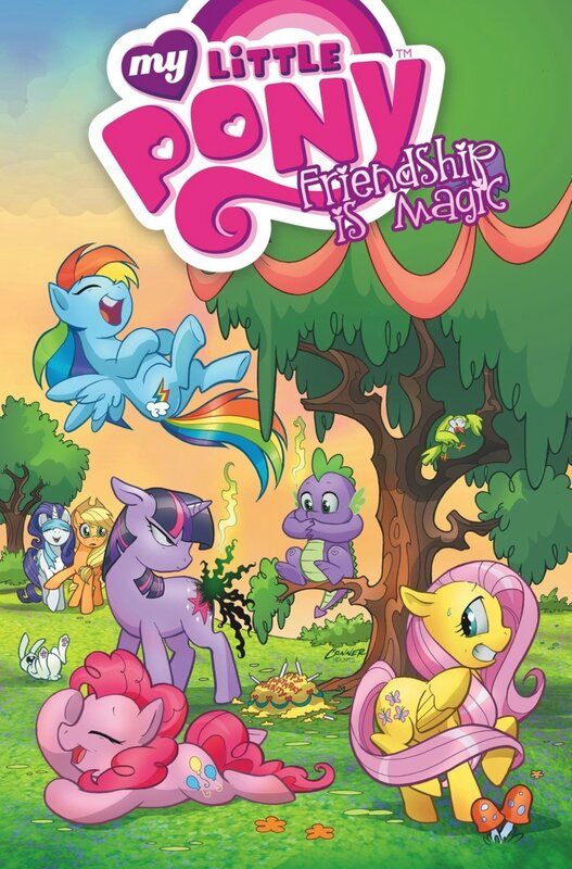 my little pony frienship is magic vol 1 TP