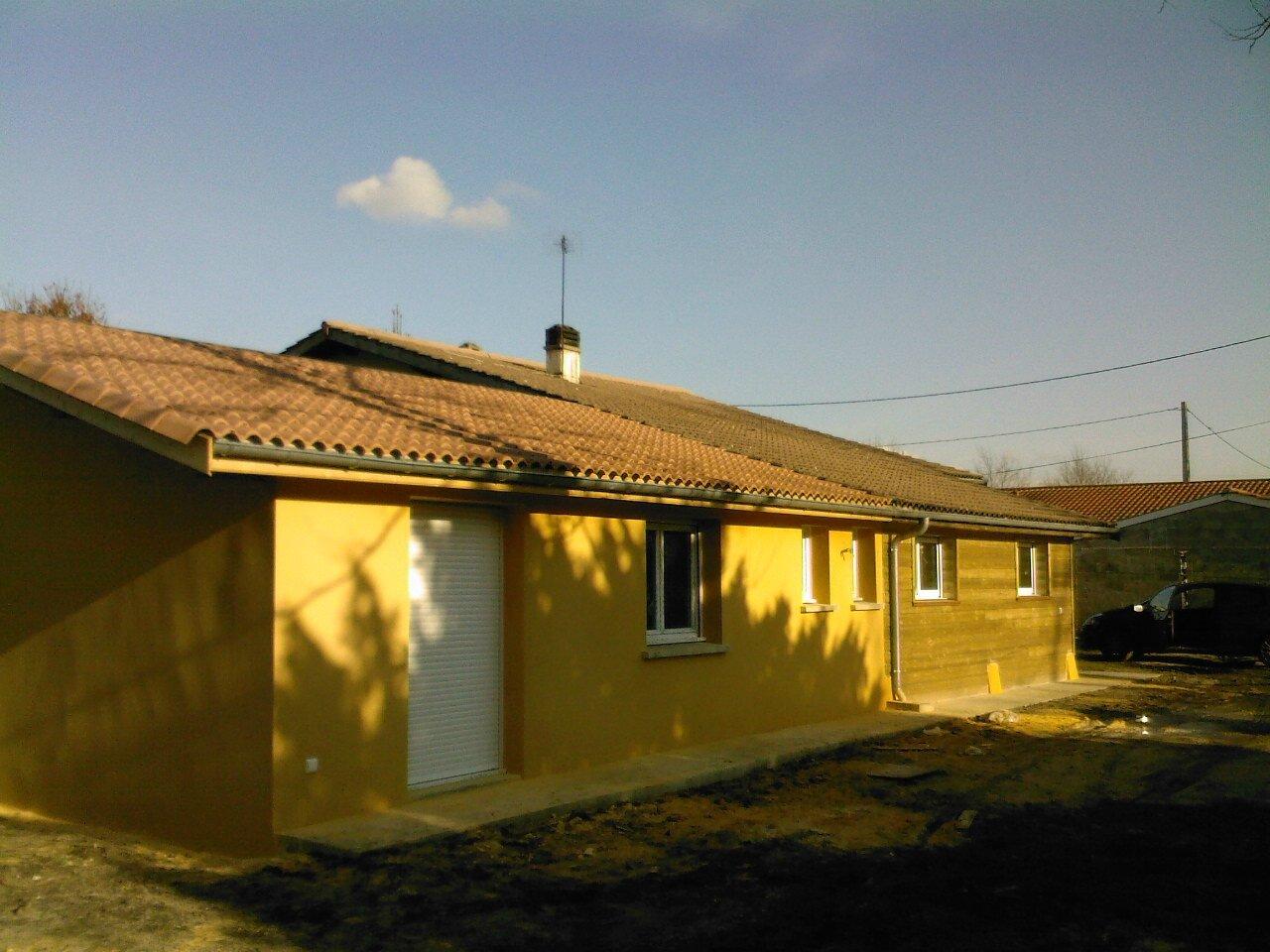 Agrandissement d 39 une maison existante pessac alain for Agrandissement maison 93
