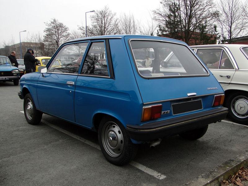Peugeot 104 zl coup 1976 1979 oldiesfan67 mon blog auto - Salon de l auto reims ...