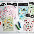 Design by charlotte : ma collection de gommettes éditées par ctop