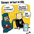 Menaces sur hollande