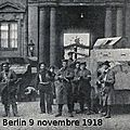 Berlin 9 novembre 1918