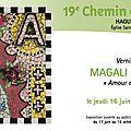 Soyez les bienvenus au vernissage de ma prochaine exposition à haguenau