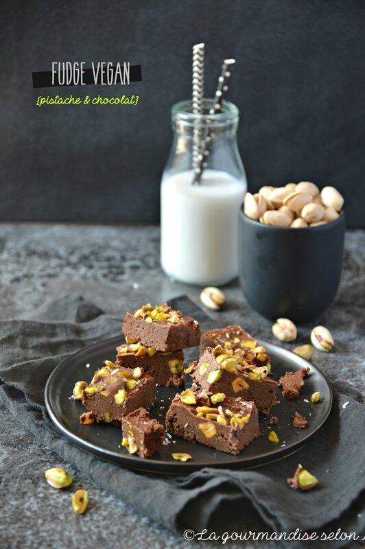 fudge vegan pistache chocolat 1