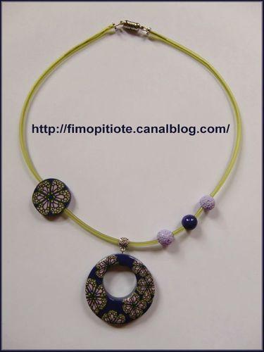 bijoux en pate fimo collier bracelet (4)