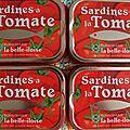 Mousse de sardines a la tomate de maminette