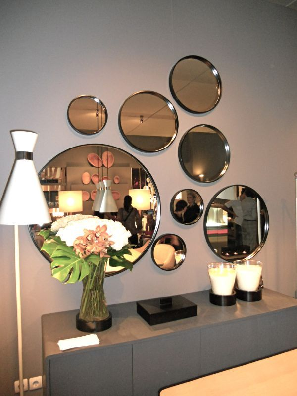 compositions de miroirs j aime home and office design. Black Bedroom Furniture Sets. Home Design Ideas
