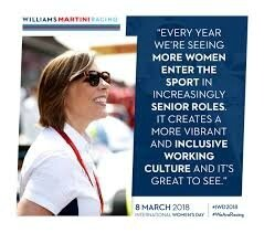 CLAIRE WILLIAMS WOMEN OF THE YEAR