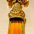 Gold and citrine desk seal - 1820
