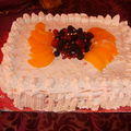 Gateau aux fruit rouges
