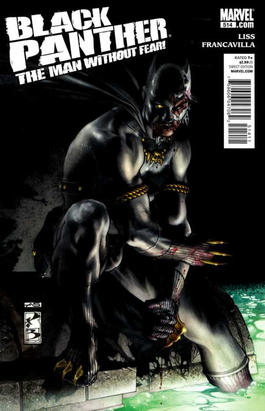 black panther the man without fear 514