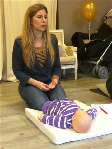 Atelier massage avec Virginie ©Kid Friendly