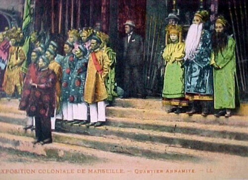 06. Exposition coloniale Marseille 1922 Quartier annamite.