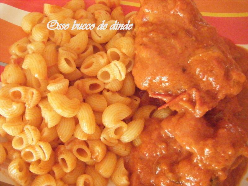 Osso bucco de dinde la cuisine des p 39 tites douceurs - Comment cuisiner osso bucco de dinde ...