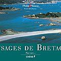 Paysages de bretagne, vue sur philip plisson, peintre de la marine