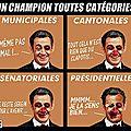 Sarko : le champion toutes catégories de la branlée électorale !