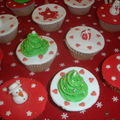 Christmas cupcakes !