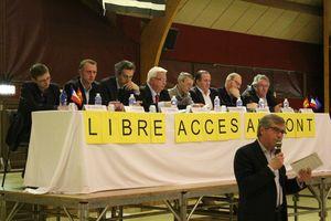 Mont-Saint-Michel Pontorson réunion opposant avenant VEOLIA 2013 Jean-Yves Vetelé