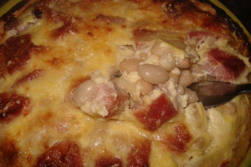 Quiche de haricots blancs cnrs cuisiner nuit rarement - Cuisiner un jambonneau ...