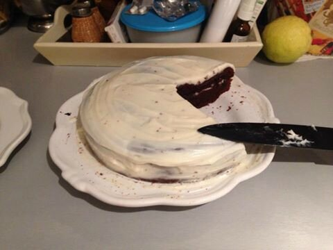 Layer Cake au chocolat de Camille