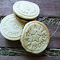 Biscuits ganache au chocolat