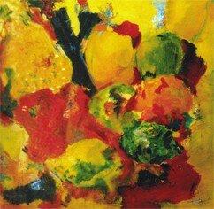 Salade de fruits (70x70cm)