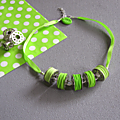 collier canette vert 25€
