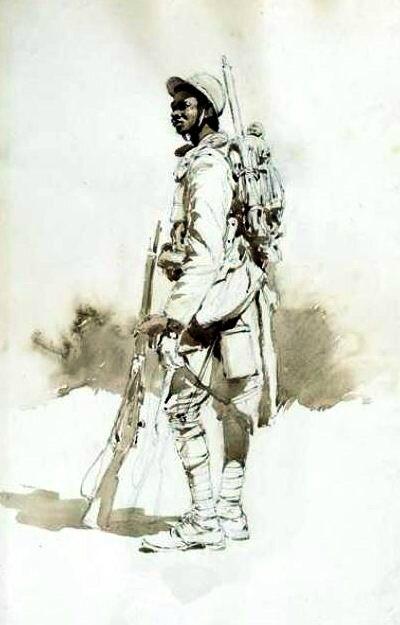 Tirailleur sénégalais 1916