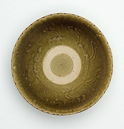 Bowl with green glaze, Vietnam, mid 15th century-late 15th century, stoneware, 8