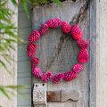 Une décoration de noël toute rose girly mais pas nunuche