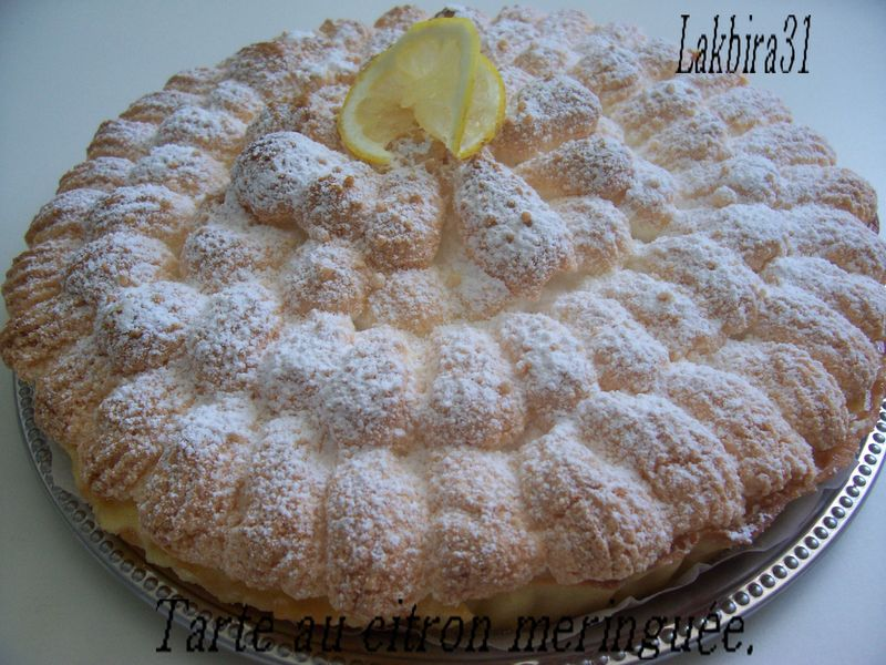 Tarte au citron meringu e toute la cuisine que j 39 aime - Tarte au citron meringuee herve cuisine ...