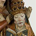 1505 (ca) - Pape en prière - fragment de retable - RMN