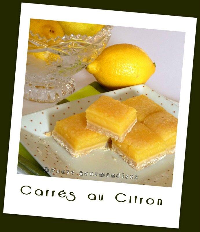 Carrés au citron (15)