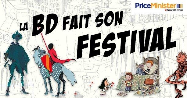 priceminister la BD fait son festival 2017
