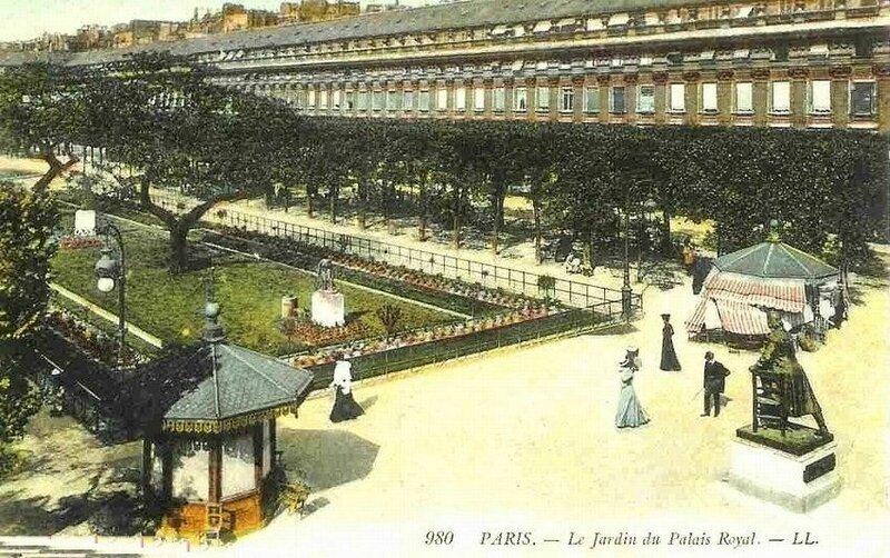 LE JARDIN DU PR 1900
