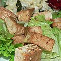 Tofu sauté - toutes saisons