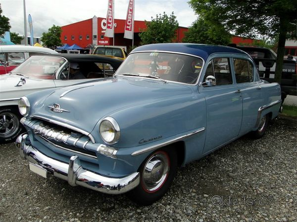 plymouth cranbrook 4door sedan 1953 a
