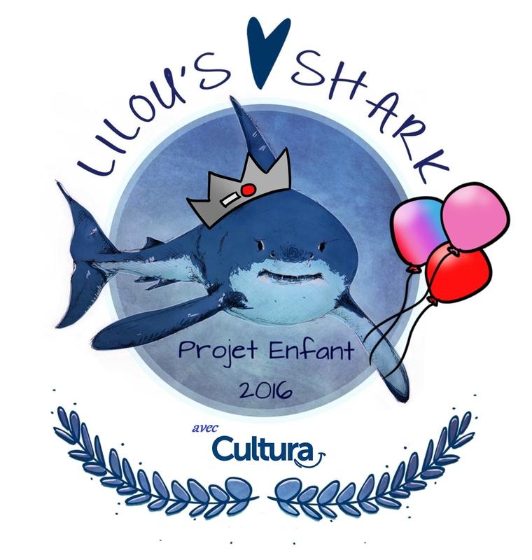 logo projet enfant shark